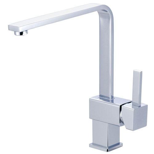 Kingston Brass Claremont Chrome Single Handle Kitchen Faucet KS8471CL