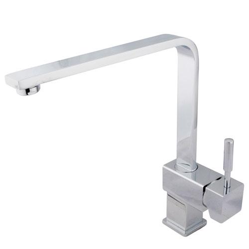 Kingston Brass Concord Chrome Single Handle Single-Hole Kitchen Faucet KS8471DL