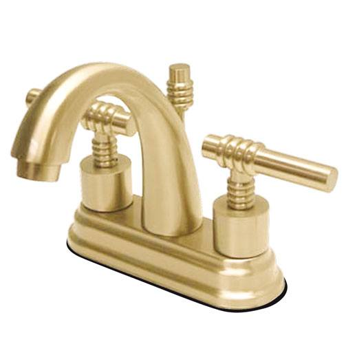 Kingston Polished Brass 2 Handle 4