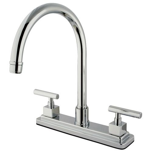Kingston Brass Claremont Chrome Two handle 8