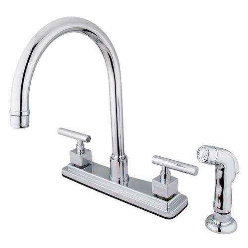 Claremont Chrome Two handle 8