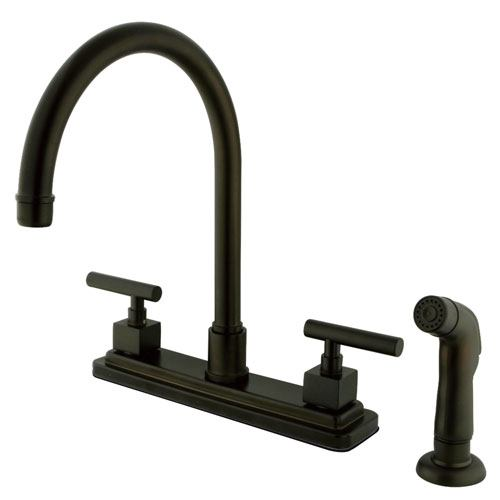 Claremont Oil Rubbed Bronze 2 hdl 8