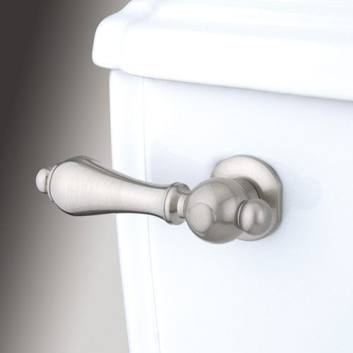 Kingston Brass Satin Nickel Restoration Toilet Tank Flush Handle Lever KTAL38