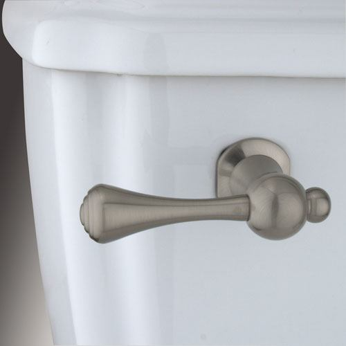 Kingston Brass Satin Nickel Buckingham Toilet Tank Flush Handle Lever KTBL8