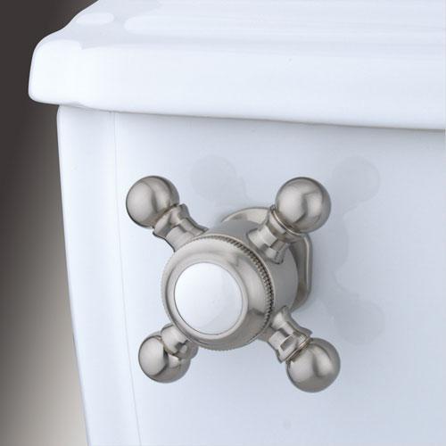 Kingston Brass Satin Nickel Buckingham Toilet Tank Flush Handle Lever KTBX8