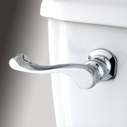 Kingston Brass Chrome French Toilet Tank Flush Handle Lever KTFL1