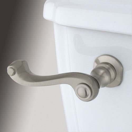 Kingston Brass Satin Nickel Royale Toilet Tank Flush Handle Lever KTFL58