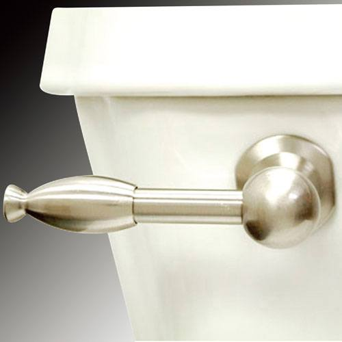 Kingston Brass Satin Nickel Knight Toilet Tank Flush Handle Lever KTKL8
