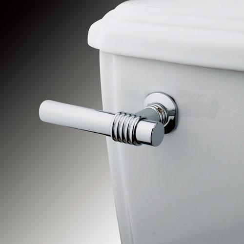 Kingston Brass Chrome Milano Toilet Tank Flush Handle Lever KTML1