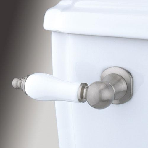 Kingston Brass Satin Nickel Victorian Toilet Tank Flush