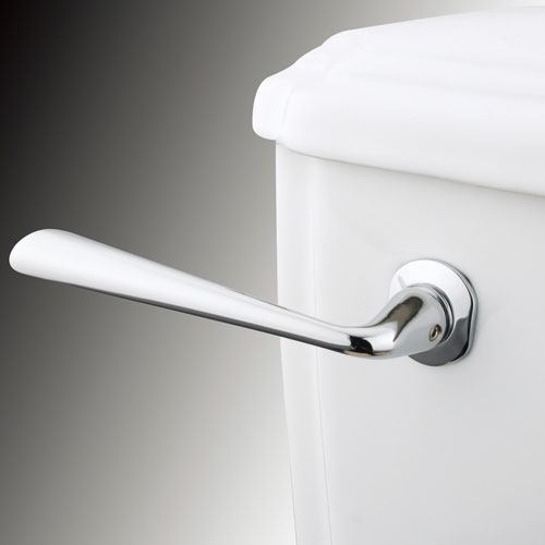 Kingston Silver Sage Chrome Decorative Toilet Tank Flush Handle Lever KTZL1