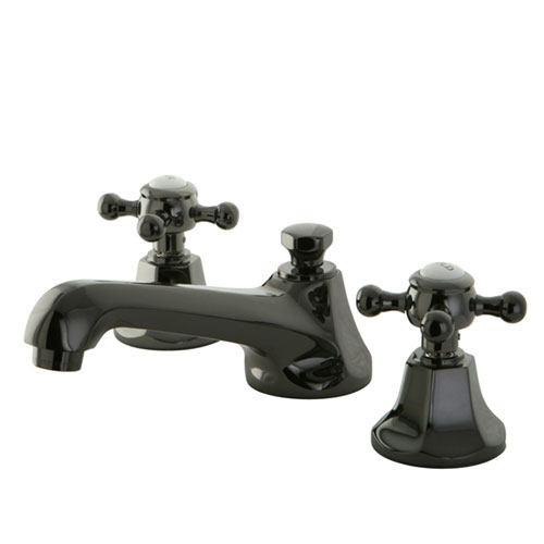 Kingston Water Onyx Black Nickel finish Widespread Bathroom Sink Faucet NS4460BX