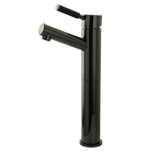 Kingston Water Onyx Black Nickel Single Handle Vessel Sink Faucet NS8410DKL