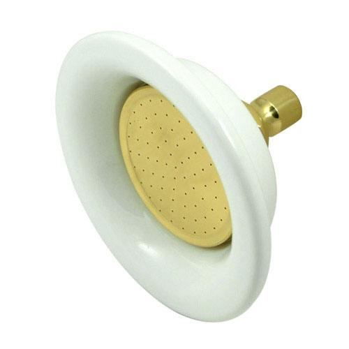 Kingston Brass Showerheads Polished Brass 6-1/4
