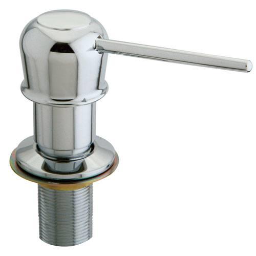 Kingston Chrome Heritage Decorative deck mount Easy Fill Soap Dispenser SD1601