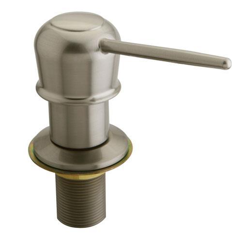 Kingston Satin Nickel Decorative deck mount Easy Fill Soap Dispenser SD1608