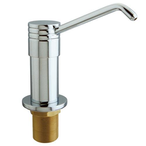 Kingston Chrome Milano Decorative deck mount Easy Fill Soap Dispenser SD2601
