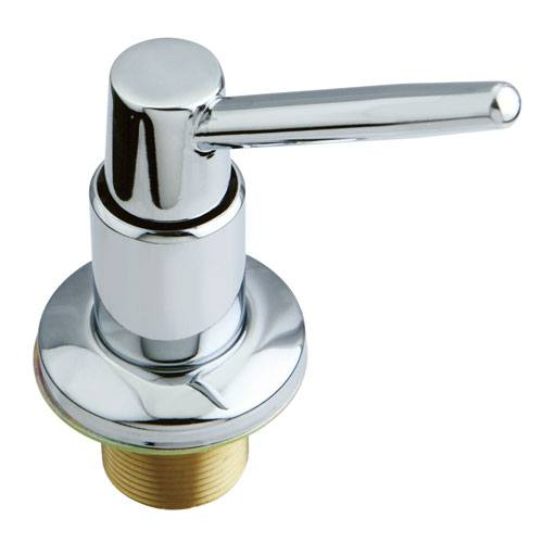 Kingston Chrome Elinvar Decorative deck mount Easy Fill Soap Dispenser SD8621