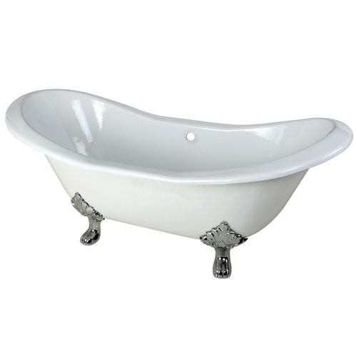 acrylic clawfoot tub package.  Cast Iron Or Acrylic Clawfoot Bathtub FaucetList Com