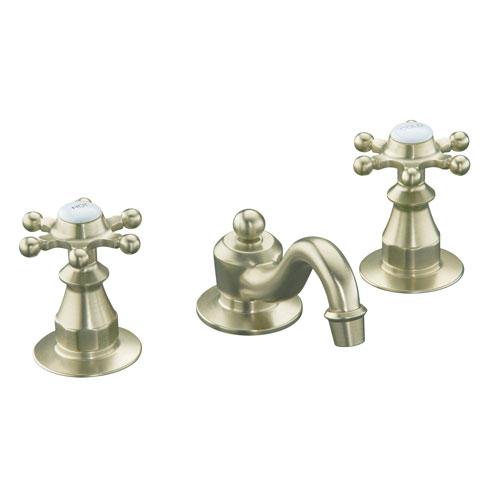 Kohler Antique Kitchen Faucet: Kohler K-108-3-BN Antique Widespread Lavatory Faucet