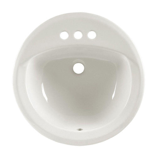 American Standard Rondalyn Self-Rimming Bathroom Sink in White 100404
