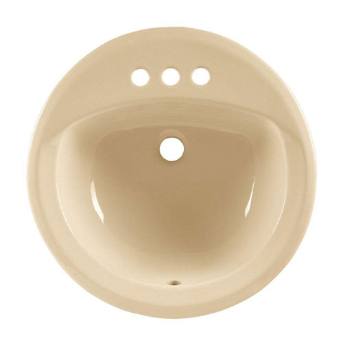 American Standard Rondalyn Self-Rimming Bathroom Sink in Bone 100446