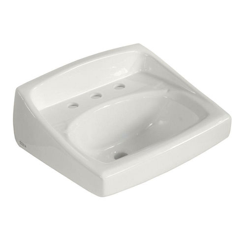 American Standard Lucerne Wall-Mounted Bathroom Sink in White 102962