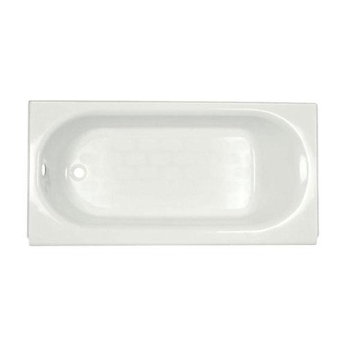 American Standard Princeton 5 foot Americast Left Hand Drain Bathtub in White 157613