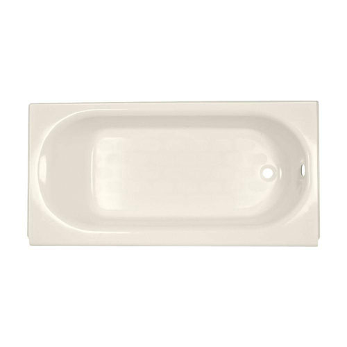 American Standard Princeton Luxury Ledge 5 foot by 34 Inch Right Drain Bathtub in Linen 158005