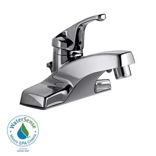 American Standard Colony 4 inch Centerset 1-Handle Bathroom Faucet in Polished Chrome 168353