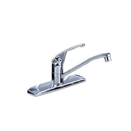 American Standard Colony Single-Handle Kitchen Faucet in Polished Chrome Less Spray 168401
