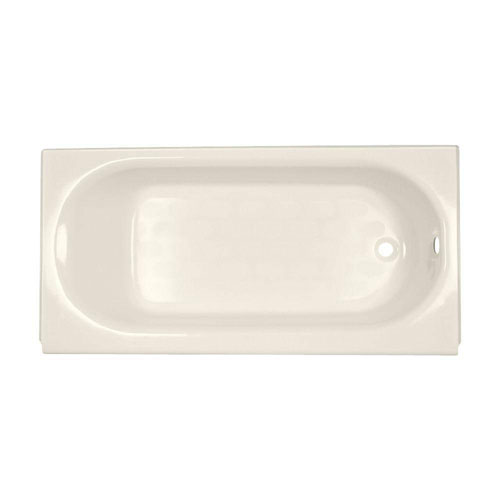 American Standard Princeton 5 foot by 30-inch Right Drain Bathtub in Linen 17148