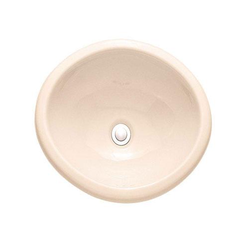 American Standard Sebring Drop-in Bathroom Sink in Bone 184369