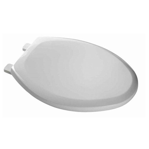 American Standard EverClean Elongated Closed Front Toilet Seat in White 235809