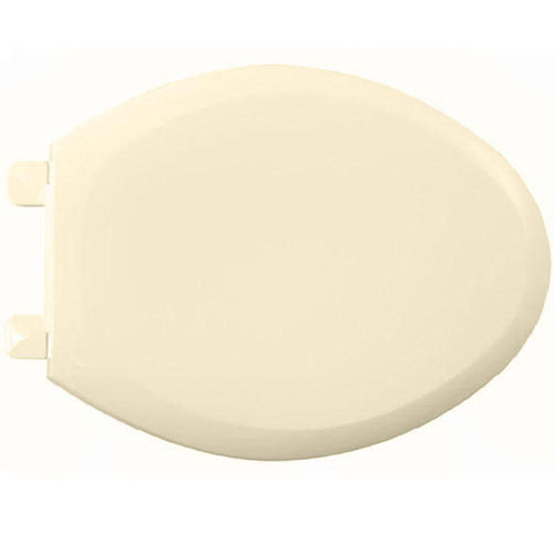 American Standard Everclean Elongated Closed Front Toilet Seat in Bone 235813