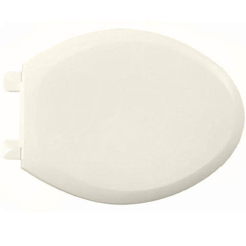 American Standard EverClean Elongated Closed Front Toilet Seat in Linen 235817