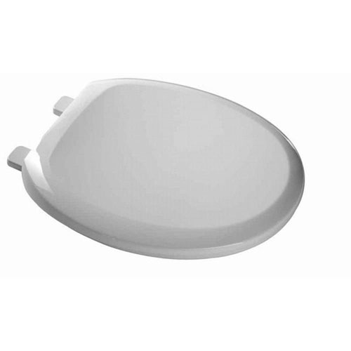 American Standard EverClean Round Closed Front Toilet Seat in White 235821