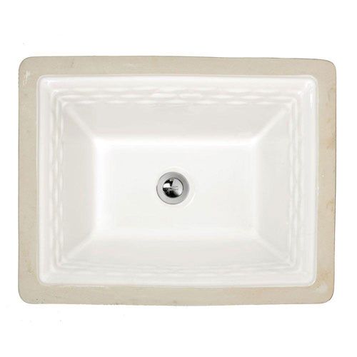 American Standard Portsmouth Undermount Bathroom Sink in White 263981