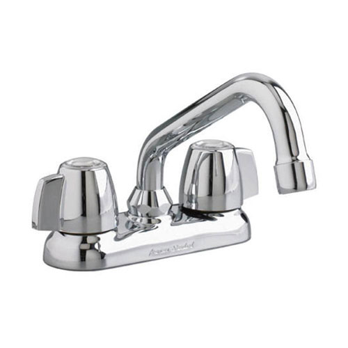 American Standard Cadet 4 inch Knob Style 2-Handle Laundry Faucet in Polished Chrome 2944