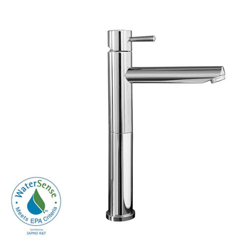 American Standard Serin Single Hole 1-Handle High-Arc Bathroom Faucet in Polished Chrome 335729