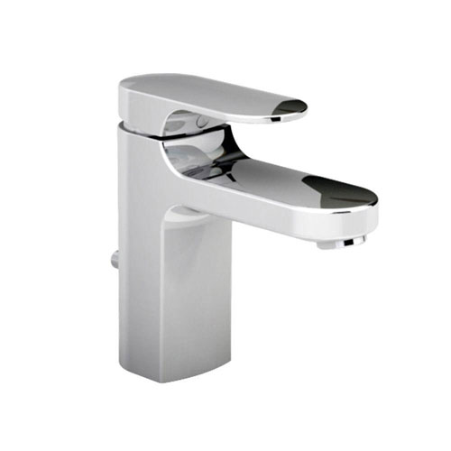 American Standard Moments Single Hole 1-Handle Low-Arc Bathroom Faucet with Metal Speed Connect Drain in Polished Chrome 363945