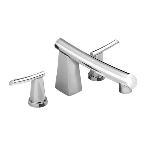 American Standard Green Tea 2-Handle Deck-Mount Roman Tub Faucet in Polished Chrome 369457