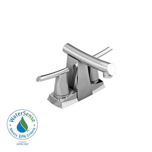 American Standard Green Tea 4 inch Centerset 2-Handle Low-Arc Bathroom Faucet in Chrome 372577