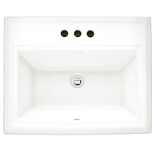 American Standard Town Square Self Rimming Drop In Bathroom Sink And I