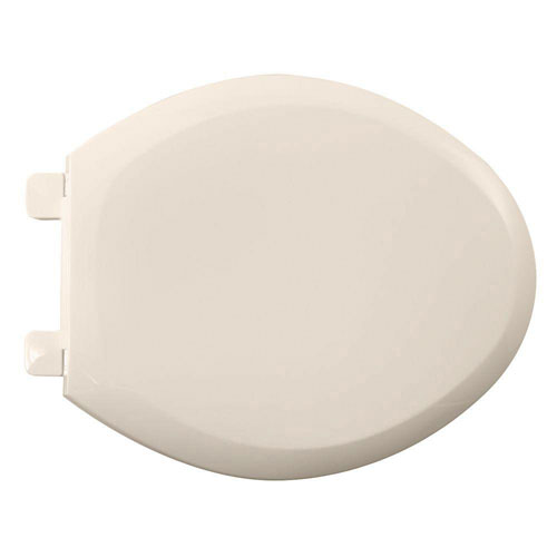 American Standard 5350.110.222 Cadet-3 Elongated Slow Close Toilet Seat with EverClean Surface, Linen 446553