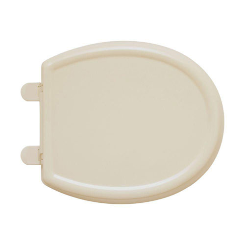 American Standard 5345.110.021 Cadet-3 Round Front Slow Close Toilet Seat with EverClean Surface, Bone 446561