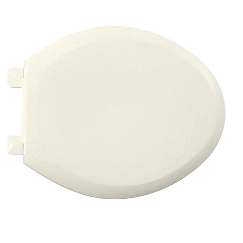 American Standard 5321.110.222 EverClean Elongated Toilet Seat with Slow Close Snap-Off Hinges, Linen 446577