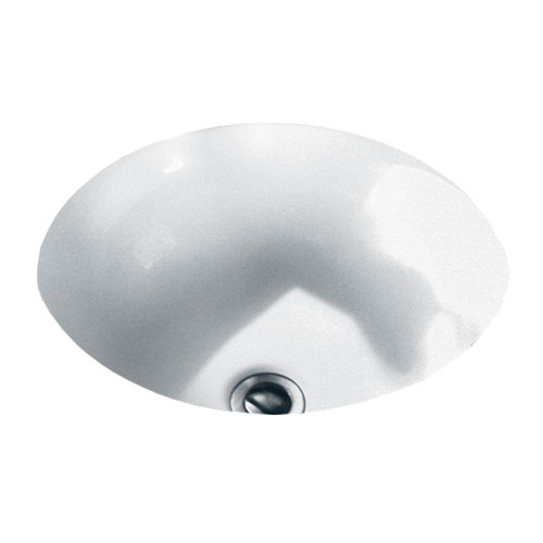 American Standard Orbit Under-Mounted Bathroom Sink in White 450977