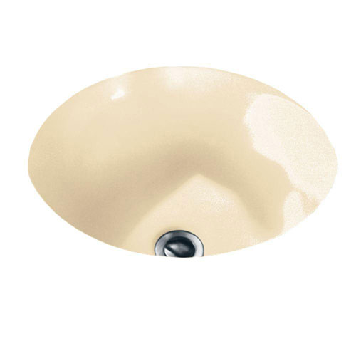 American Standard Orbit Under-Mounted Bathroom Sink in Bone 450985