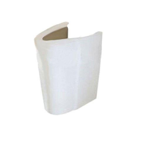 American Standard Ravenna Semi-Pedestal Combo Bathroom Sink Leg in White 452953